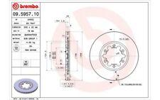 BREMBO Juego de 2 discos freno 256mm ventilado MAZDA E B-SERIE 09.5957.10