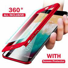 Hülle für iPhone 6s 7 8 Plus X XS MAX 11 360 Grad Handy Case Schutz Cover Tasche