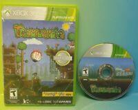 Terraria -  Microsoft Xbox 360 Rare Game Tested + Working
