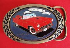 Vintage Classic Car Thunderbird 1956 Belt Buckle