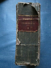 HALLER : BIBLIOTHECA CHIRURGICA, 1774-75 (importante bibliographie chirurgicale)