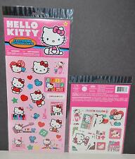 HELLO KITTY PARTY FAVORS SANRIO STICKERS TATTOOS SET 25 STICKERS 25+ GIRLS TOY