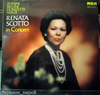 Renata Scotto : IN Concert - LP Scellé