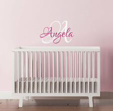 60CM Removable Custom Name For Baby Vinyl Wall Paper Decal Art Sticker X1041
