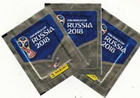 PANINI FIFA WORLD CUP RUSSIA 2018 - LOT DE 3 POCHETTES DE STICKERS - FOOT