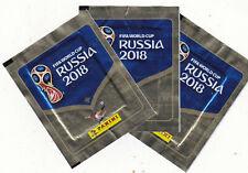 PANINI FIFA WORLD CUP RUSSIA 2018 - LOT DE 3 POCHETTES DE STICKERS - FOOT