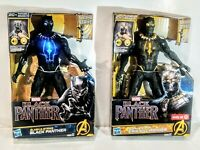 Marvel Black Panther Slash & Strike 12 Inch Hasbro Action Figures Sounds Lights