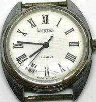 Ussr Wostok 17 Jewels Watch Vintage Vostok Soviet S Men Wrist Rare Mechanical