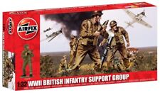 A04710 Airfix Kit WW2 British Infantry Support Group (17pcs) 1:32 Scale Boxed