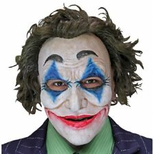 The Joker Mask Crazy Jack Perfect Fit Latex Rubber Halloween Party Accessory New