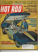 Vintage HOT ROD Magazine April 1970 Issue