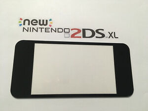 Nintendo New 2DS XL Top LCD Screen Cover,Lens Repair Part Black