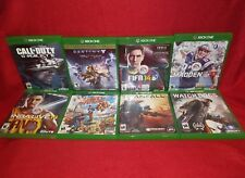 8 Game Xbox One Lot! COD Ghosts/Destiny/FIFA 14/Madden 17/Titanfall/Watchdogs N8