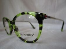 6fe9c98e12c DOLCE   GABBANA D G EYEGLASS FRAME DG3242 2970 HAVANA GREEN 48 MM NEW  AUTHENTIC
