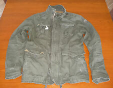 NEU A&F Abercrombie and Fitch Jacke Outdoor in L oliv ( Hollister )