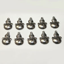 10pcs tibetan silver bonhomme de neige charmes Pagan / Celtique