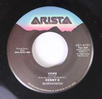 Pop 45 Kenny G - Silhoette / Home On Arista
