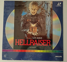 HELLRAISER LASERDISC IN ITALIANO PAL NUOVO SIGILLATO LASER DISC