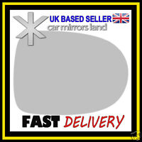 Right Driver Wing Mirror Glass Replacement RENAULT CLIO 2009-2012 STICK ON