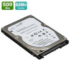 DISQUE DUR Disque dur Hybride SSH Sata 500Go ST500LM000 avec 8Mo SSD