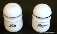 Stoneware  ~  Salt &  Pepper Shaker Set