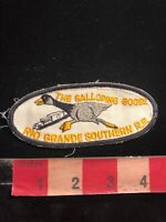 Vtg RIO GRANDE SOUTHERN RAILROAD THE GALLOPING GOOSE Patch - Train Related 04Q6