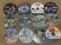 Playstation 2 Game Lot of 12 Disc Only PS2 Games Good Condition