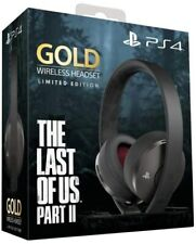 Auriculares Gaming Inalámbricos Sony Gold the Last of US II (Limited Edition -