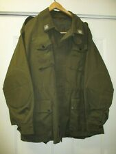 Vintage Italian Italy Army Jacket w. padded elbows Sz 42 chest.  V. good cond.