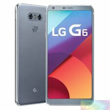LG  H870DS G6 Platinum 64GB 4G LTE Unlocked AU WARRANTY Smartphone