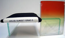 "4x5.65"" Sunset Grad 3 Tiffen Filter Vertical Graduated Filters 4565CGSU3V"