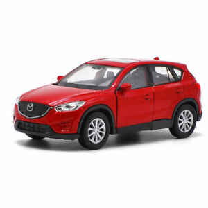 1:36 Scale Mazda CX-5 SUV Model Car Alloy Diecast Toy Vehicle Collection Red