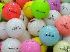 24 Mint Volvik & Assorted Crystal Mix AAAAA Used Golf Balls - FREE SHIPPING