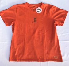 Life is Good Horse Spicy Orange Women's Crusher S/S T-Shirt Large NWT