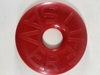 "Life Saver Candy 9"" Frisbee Flying Disc Red Advertising"