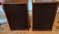 Pair of Vintage Sansui SP-3500 4-Way Speakers Sounds great NICE exterior 1 owner