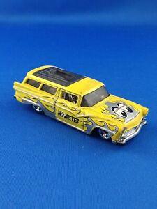 Miniature petite voiture hotwheels 1/64 mooneyes 8 crate mattel 2002