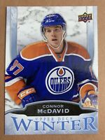 2016 Upper Deck Winter #W6 Connor McDavid Edmonton Oilers