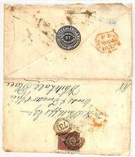 PP28 1852 GB INSURANCE *SCEPTRE Assurance* Embossed Envelope {samwells-covers}