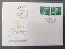 SWITZERLAND FDC 1968 HELVETIA 26.2.1968 Championnat du monde de patinage Geneva