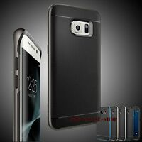 Hybrid Rugged Bumper Shockproof Skin Case Cover For Samsung Galaxy S6 S7 Edge