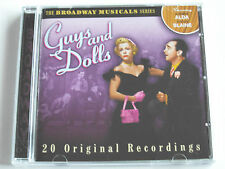 Broadway Musicals - Guys And Dolls (CD Album) Used Very Good