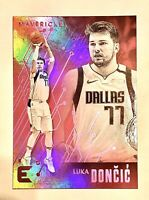 LUKA DONCIC 2019-20 Panini Chronicles Essentials Pink Parallel SP Mavs🏀🔥📈