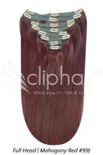 Premium Full Head Clip in REMY Human Hair Extensions