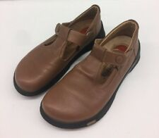 Birkenstock Footprints Clogs Brown Tan Shoes Sandals Mary Janes Womens 40 / 9.5