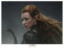 TAURIEL - THE HOBBIT lithograph by Jerry VanderStelt