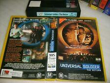 UNIVERSAL SOLDIER THE RETURN: JEAN-CLAUDE VAN DAMME 1999 Classic Action Thriller