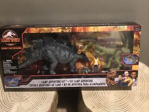 Jurassic World Camp Cretaceous Adventure Set Stegosaurus Bumpy Baryonyx Darius