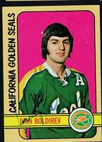 Ivan Boldirev #146 signed autograph auto 1972-73 Topps Hockey Trading Card