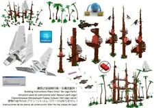 Lego Ewok Village 1 Star Wars Instructions Custom Base Endor Return of the Jedi